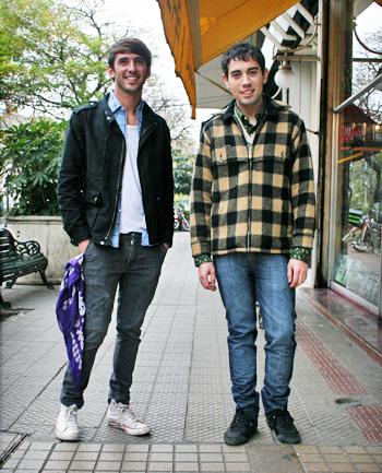 Andres Lennon y Andres Fernandez