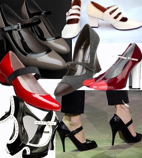 Los zapatos Mary Janes