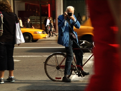 Bill Cunningham New York por Richard Press