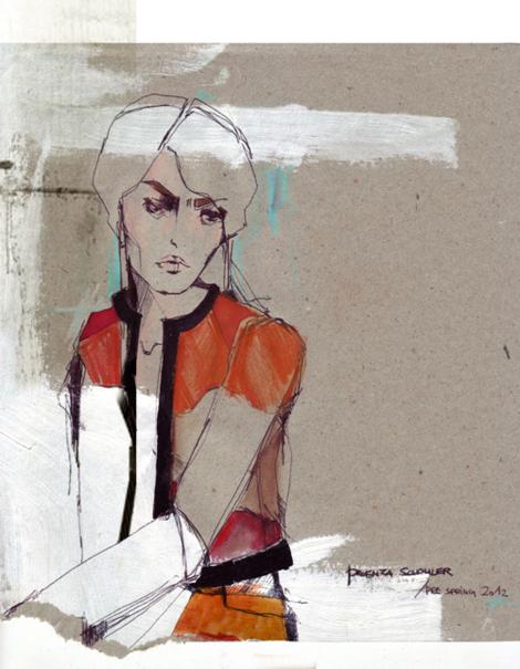 Elisabeth Bukanova: amor por el dibujo