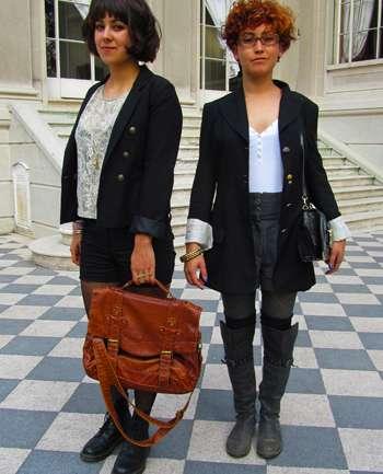 Camila Peralta y Fernanda Acuña
