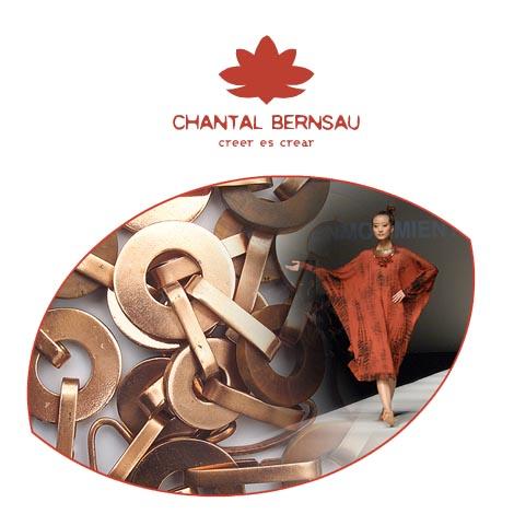 Chantal Bernsau en Pasarela Raíz Diseño