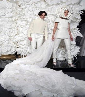 Impresionante: Chanel y el Origami, colección Haute Couture SS09