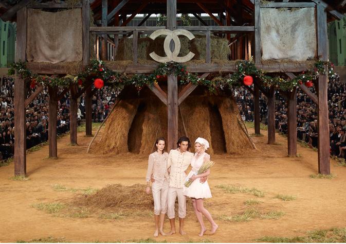Chanel y su video en Versalles