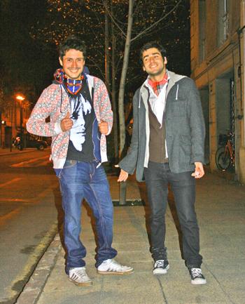 Daniel Araos y Felipe Lastra