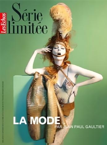 Coco Rocha para Jean Paul Gaultier en Le Echos