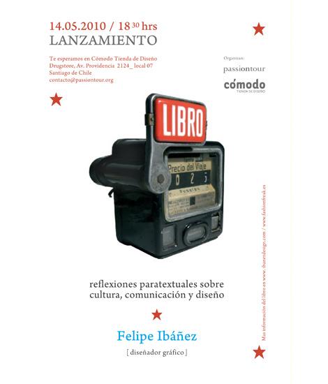 """Lanzamiento """"LiBRO"""" de Felipe Ibáñez"""