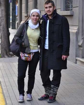 Daniela De-Groote y Diego Saez
