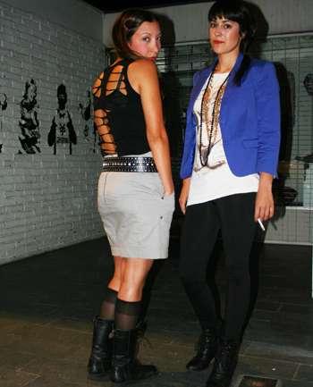 Vanessa Merello y Camila Peralta