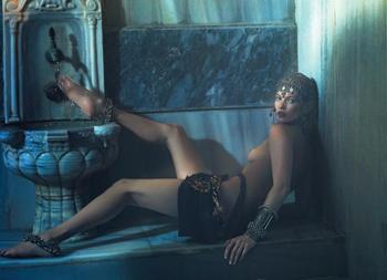 Kate Moss para W