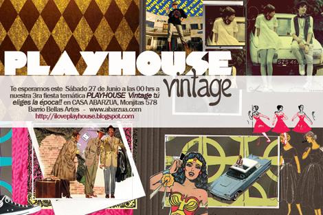 Gana entradas para la fiesta Vintage de Play House
