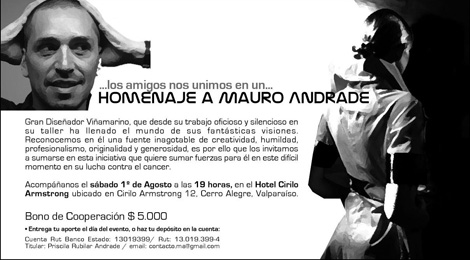 Homenaje a Mauro Andrade de Oops Ma