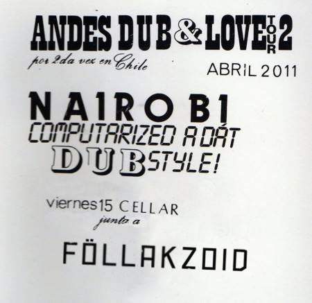 Fiesta Cellar: Nairobi (BS AS), Follakzoid, Cholita Sound, Terry Unplugged y más