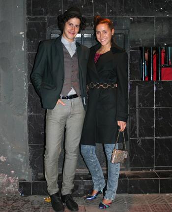 Cosmo Gonik y Laure Piazza