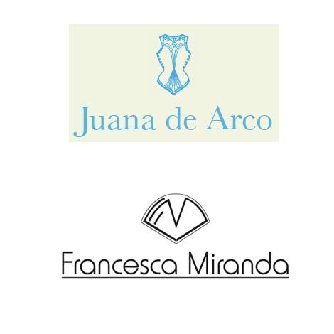 Juana de Arco y Francesca Miranda en Pasarela Raíz Diseño