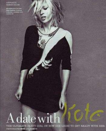 Kate Moss ícono fashion, style tips e inspiración artística