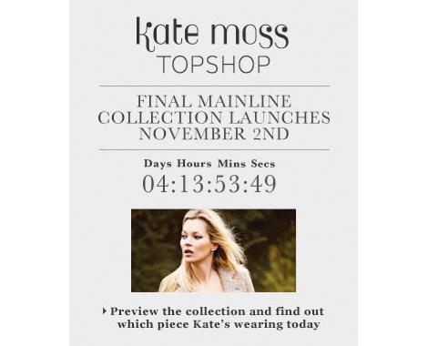Kate Moss para Topshop: la colección