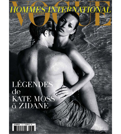 Kate Moss haciendo noticia