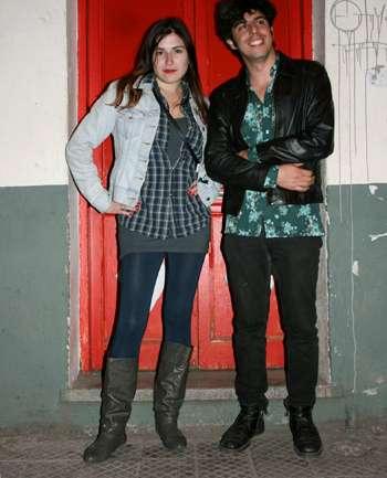Pablo Casino y María Sandoval