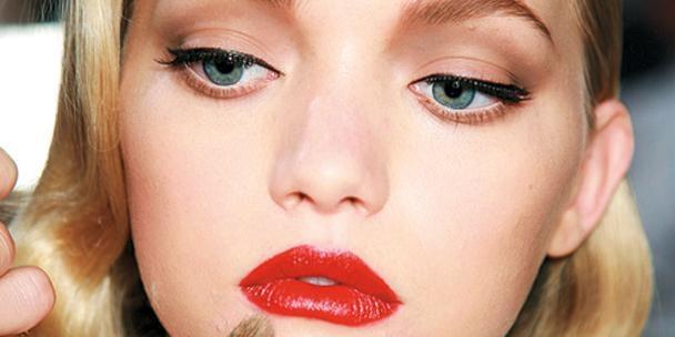 El efecto del labial rojo