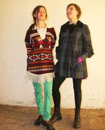 Mariana Montenegro y Pia Cardenas