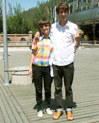 Mónica Infante y Oltmann Ahlers