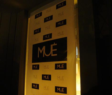 El lanzamiento de MUÉ