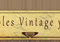 Muebles Vintage y Sonicos