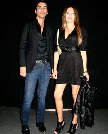 Oscar Muñoz y Pilar Cueva