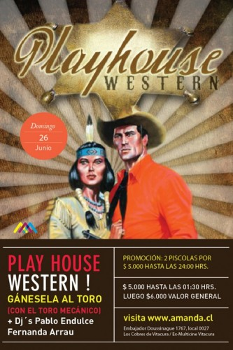 Domingo 26: Playhouse Western