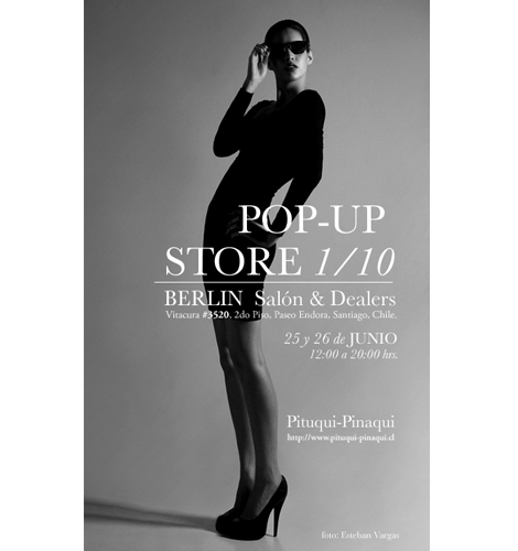"Pituqui-Pinaqui ""Pop-up Store 1/10"""