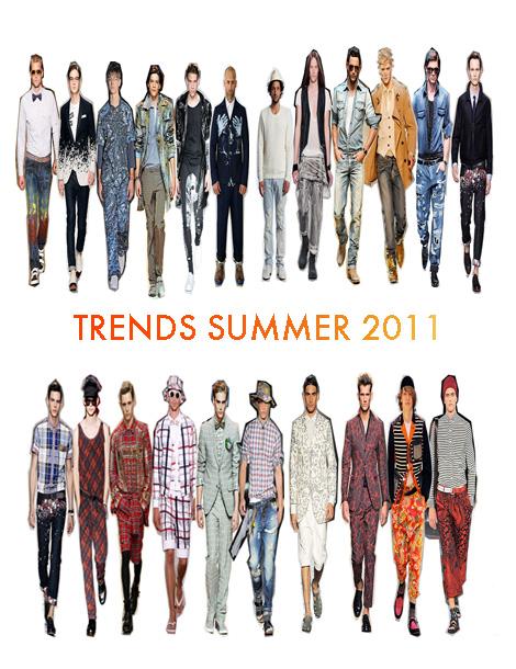 Tendencias Vestuario Masculino Verano 2011