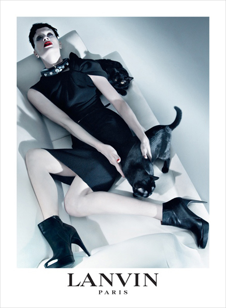 Lanvin y los gatos negros