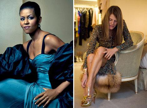 Puro estilo: Michelle Obama y Anna Dello Russo
