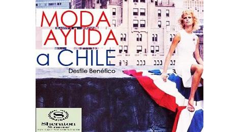 La Moda ayuda a Chile