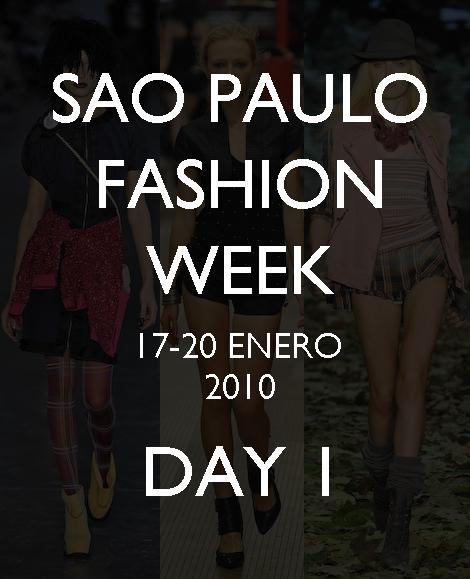 Sao Paulo Fashion Week: Cavalera, Colcci, FH POR FAUSE HATEN, Mario Queiroz, Priscilla Darlot y Rosa Chá.