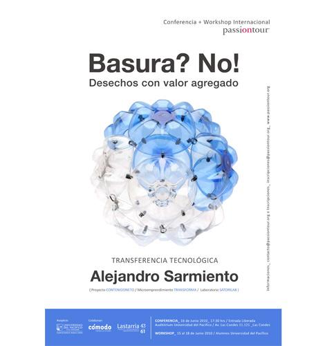 Hoy: Charla por Alejandro Sarmiento