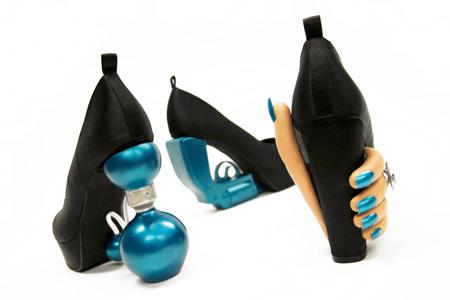 Los zapatos femme fatale de Vibeke Skar