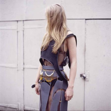 Kirsty Ward: prendas como joyas