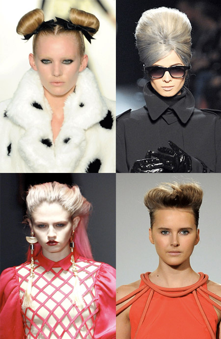 Hair Trends de los Fashion Week