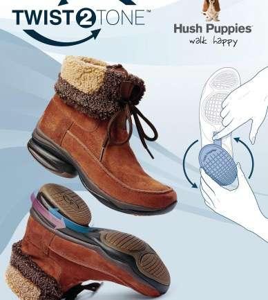 Lo nuevo de Hush Puppies: Tecnología T2T