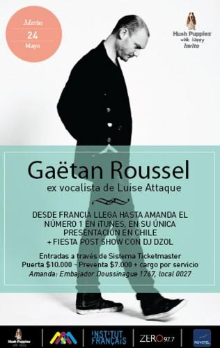 Ganador del concurso Gaëtan Roussel