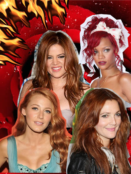 Red hair trend