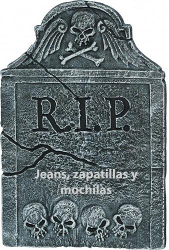Muerte a las zapatillas, jeans y mochilas