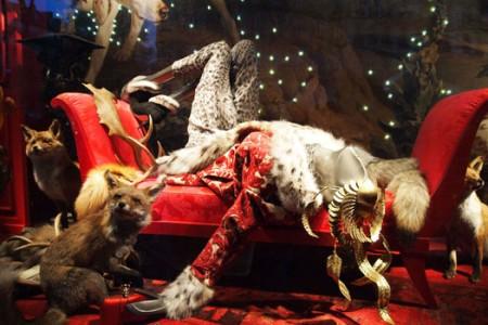 Vitrinas de Navidad en París