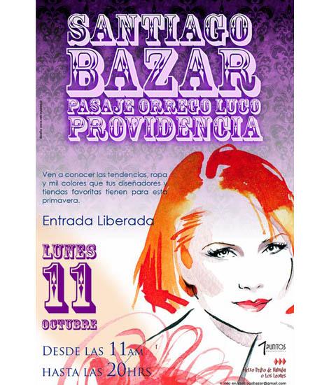 Santiago Bazar: versión primavera/verano