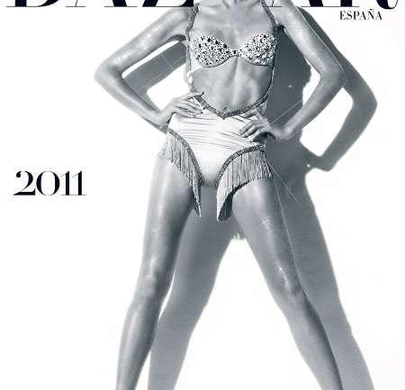 El calendario Harper's Bazaar España 2011