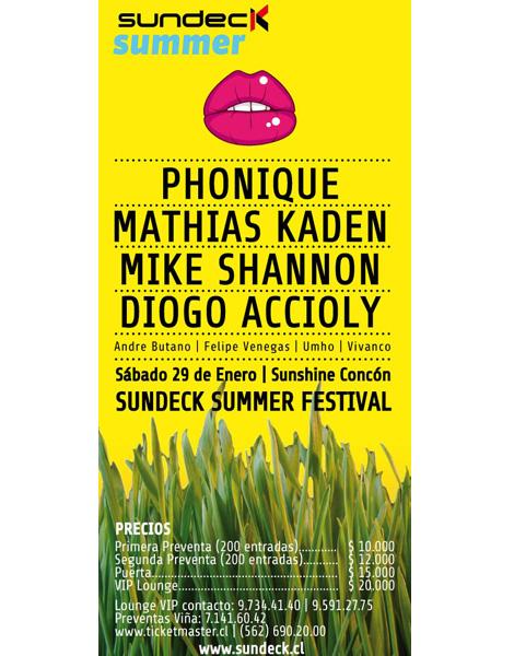Gana entradas para Sundeck Summer Festival