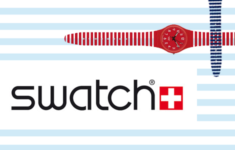 Lo nuevo de Swatch: Coulour-Coded Stripes