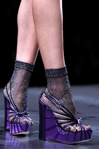 Sandalias y calcetines